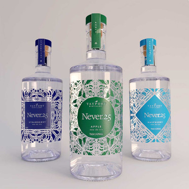 Overview of three key gin flavours