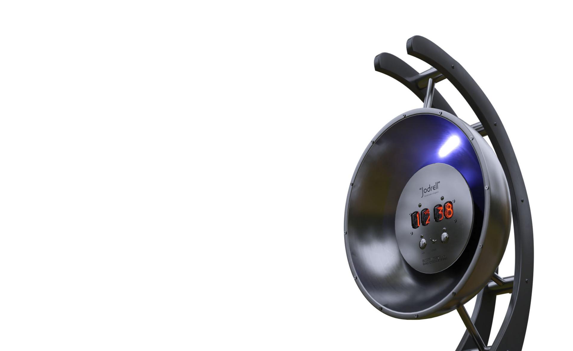 Hand built retro chronometer