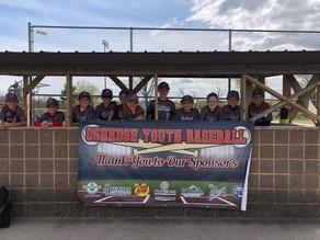 Cheering for Oshkosh Youth Baseball!