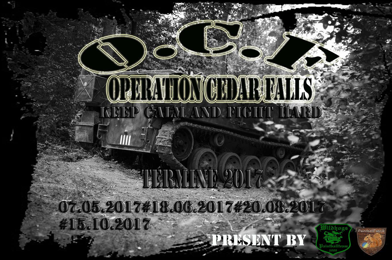 OCF 2017 Termine