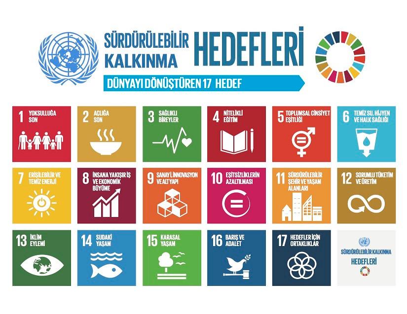 Sürdürülebili Kalkınma Hedefleri SDG Projeleri