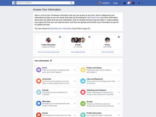 Bilgi güvenliği ve Facebook
