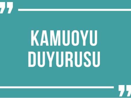 KVKK Veri sorumlusuna başvuru yöntemi duyurusu