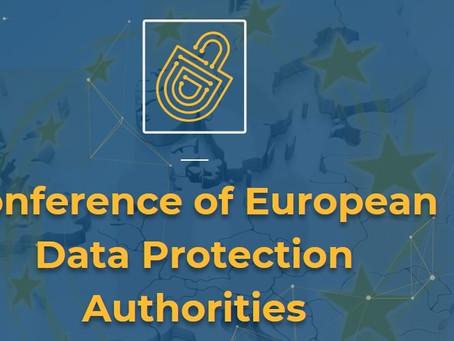 KVKK danışmanlığı ve Avrupa Veri Koruma Otoriteleri Konferansı