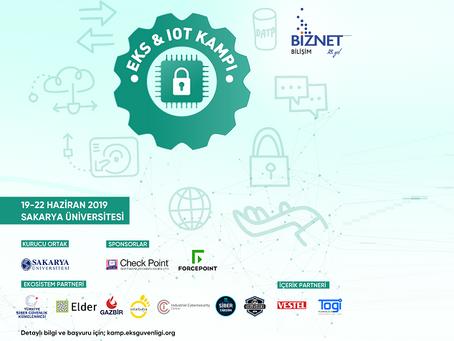 Siber güvenlik eğitimi ve EKS & IoT Siber Güvenlik Kampı 2019