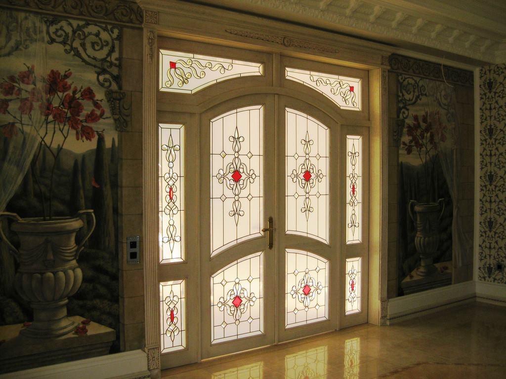 Kapı vitrayı 7