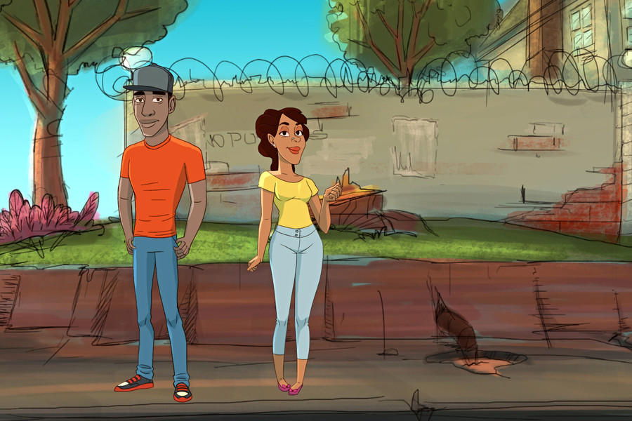 SAVAGE GEM (Animated Short Film))
