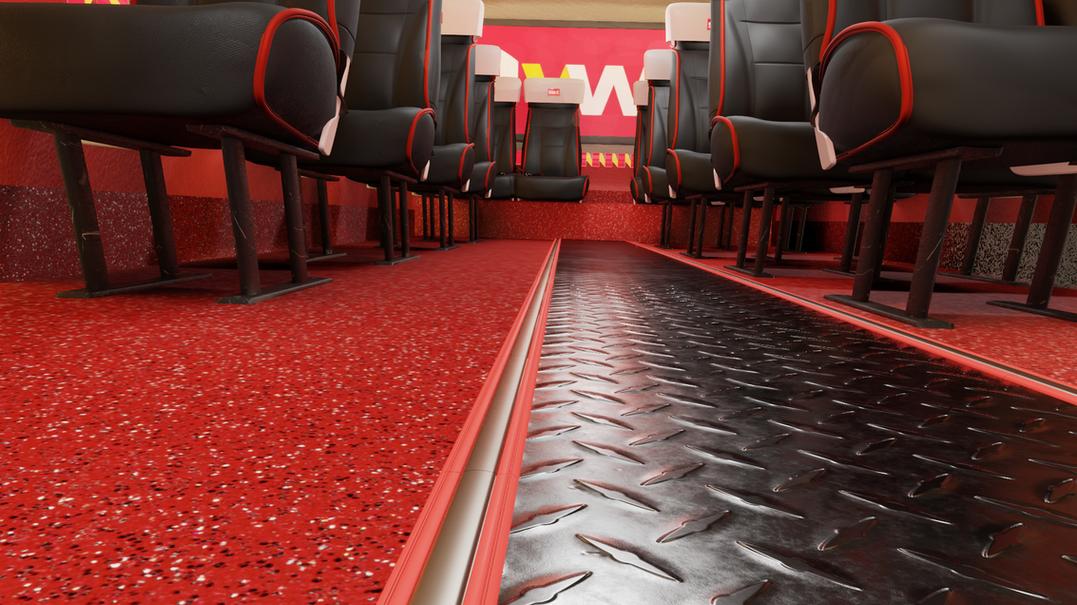 NQR Bus Floor