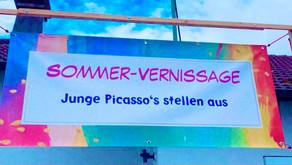 """Sommervernissage """"Junge Picassos stellen aus"""""""