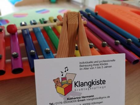 """Aktuelles aus dem Atelier """"Gloria"""" - Lätzchen für die Großtagespflege in Vöhringer """"Klangkiste"""""""