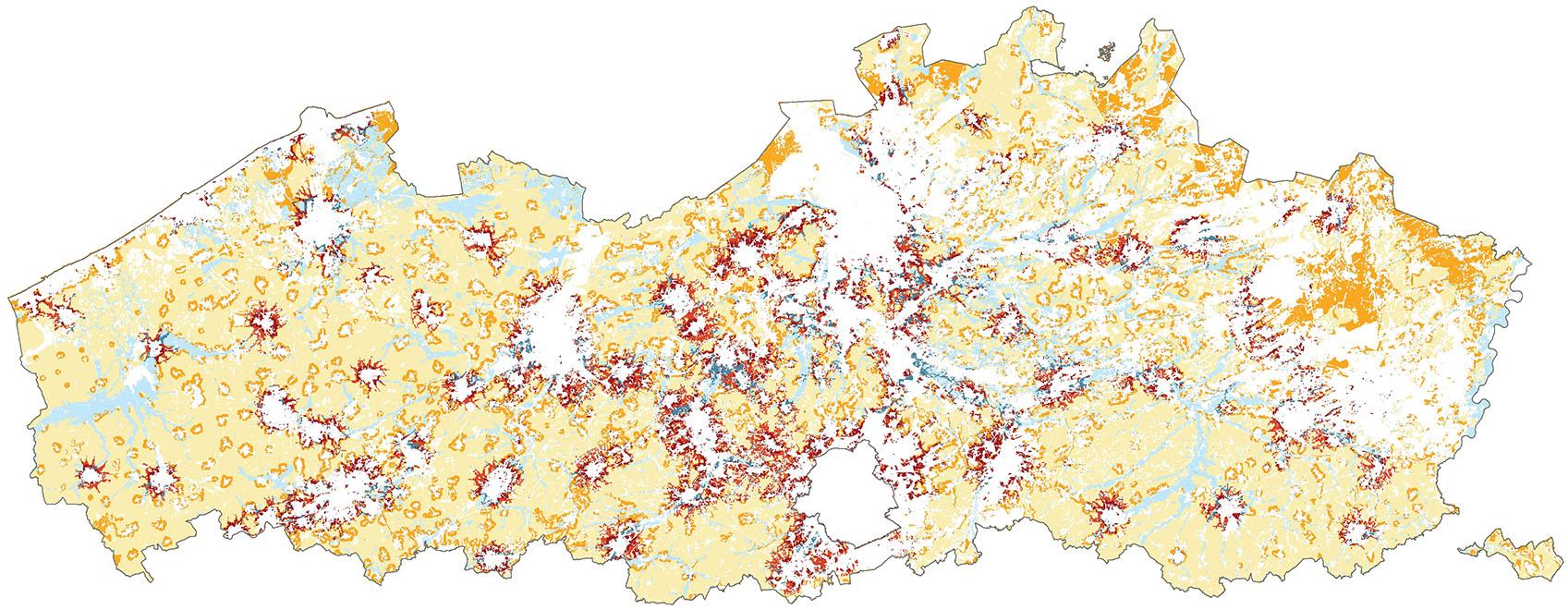kaart ruimtelijke condities voor landbouw_lt