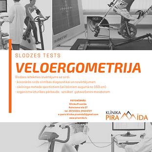 VELOERGOMETRIJA - SLODZES TESTS!