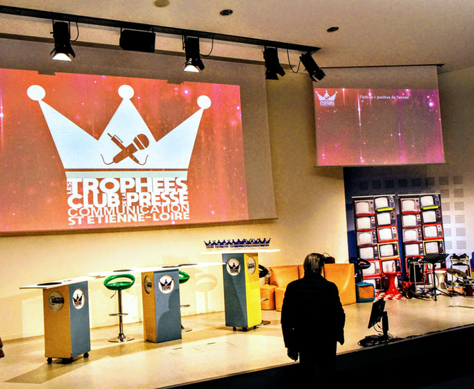 Scénographie Erika V. Event des trophées
