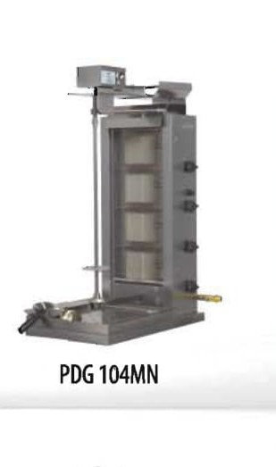 PDG 104 MN 4 Double Burner Gas Gyro