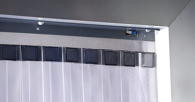 Standard Double Layer Cooler Curtain