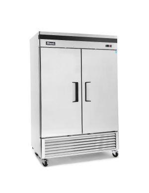 Small Migali 2 Door Reach in Refrigerator