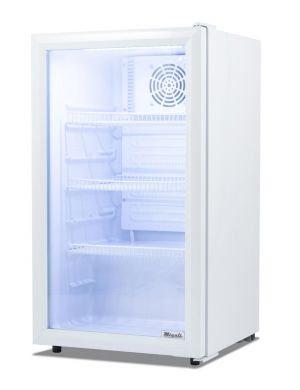 4 cu/ft Migali Glass Door Merchandiser Refrigerator