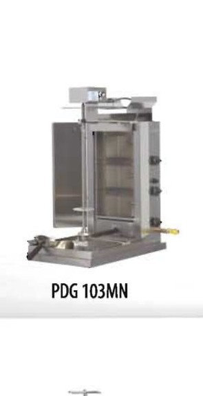 PDG 103MN 3 Double Burner Gas Gyro Machine