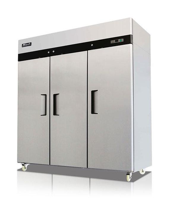 3 Door Reach-In Refrigerator