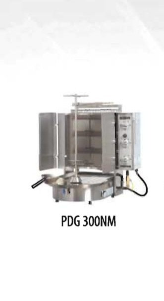Inoksan PDG 300NM 6 Burner Gas Gyro Machine