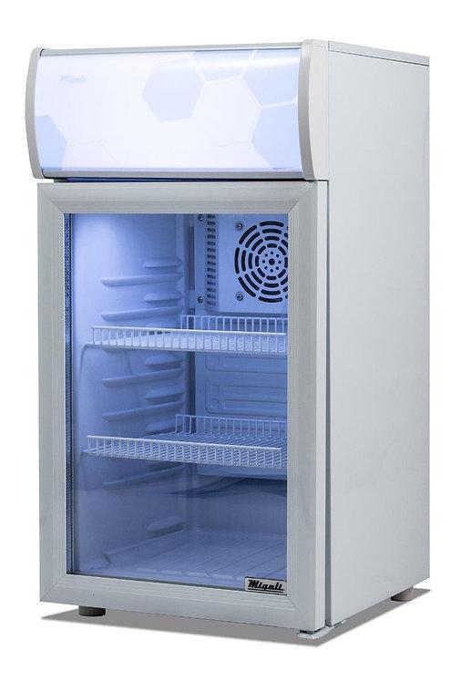2 cu/ft Migali Glass Door Merchandiser Refrigerator