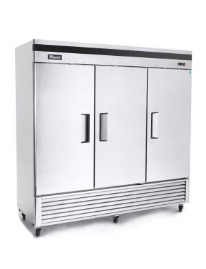 3 Door Migali Reach-In Refrigerator