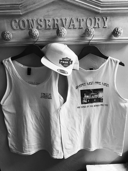 PAUL'S COCKTAILS UNISEX TANK TOP