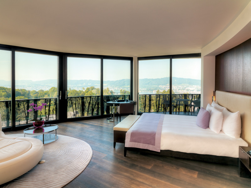 Romance in Switzerland at the Dolder Hotel in Zurich