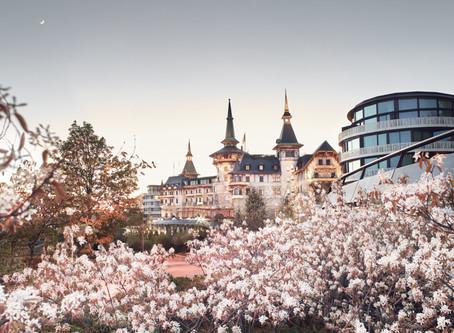 Romance in Switzerland at the Dolder Grand Hotel in Zurich