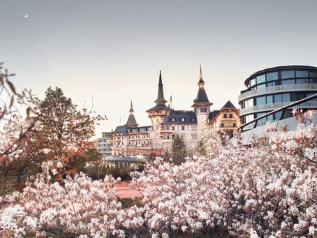 Romance in Switzerland at the Dolder Grand Hotel in Zurich