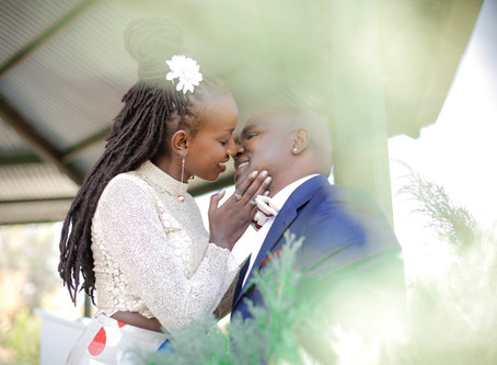 Suzan & Brilliant's Wedding - Less is more