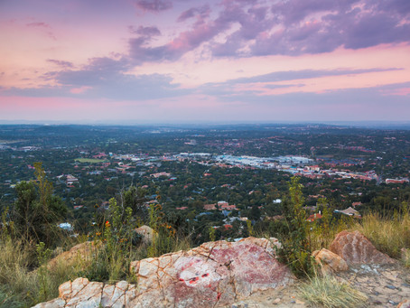 #HikeSA, Week 5: Sunset at Northcliff Eco Park