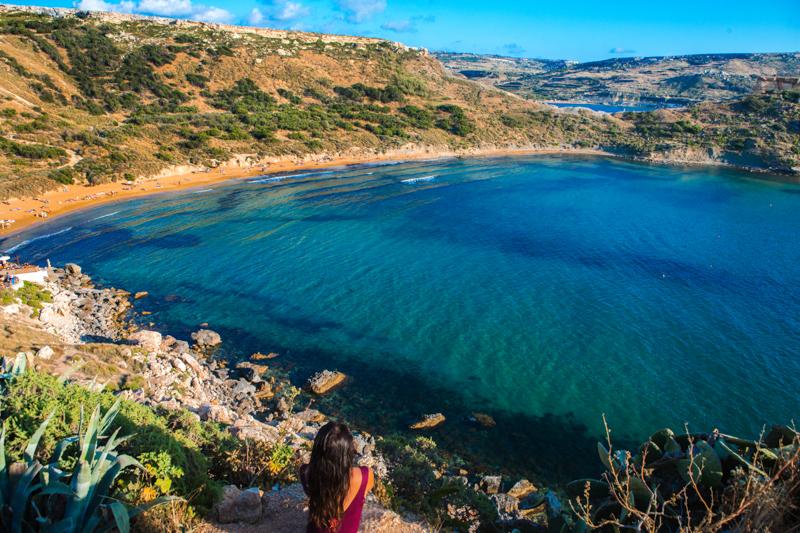 Golden Bay, Malta 7
