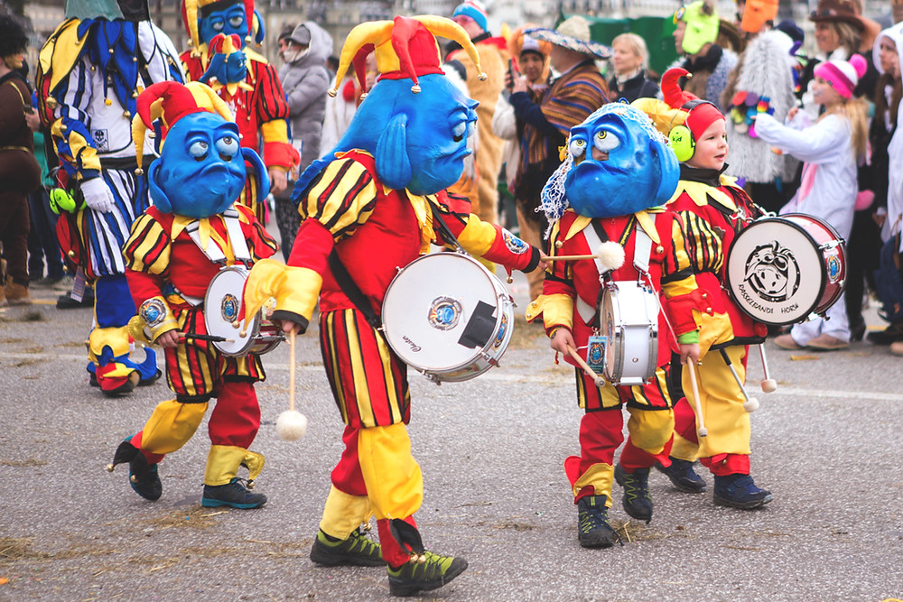 Lucern Carnival | Switzerland  Image by Chantelle Flores www.51countriesandcounting.com