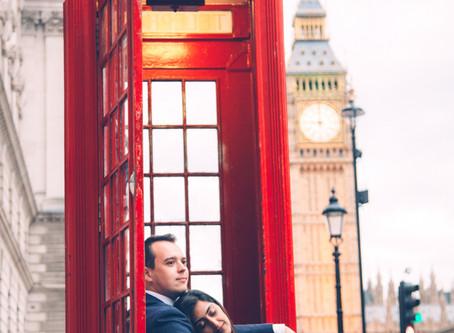 A love affair in London - Sheetal & Zane