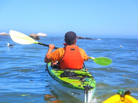 Sea Kayaking with Kayak Paternoster