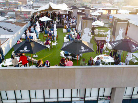A first for SA's Urban Jungle - Roof Top Camping in the city centre