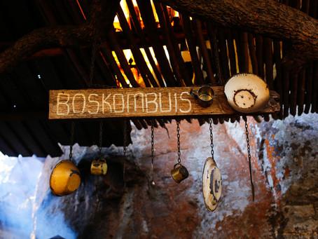African infused cuisine at Potluck Boskombuis