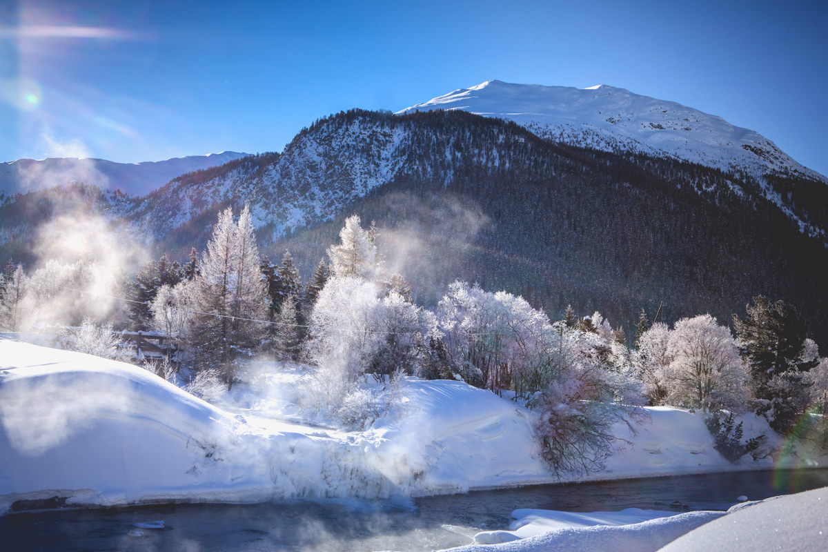 Winterwonderland of Switzerland