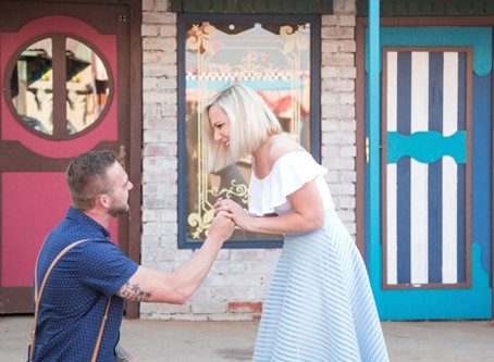 The perfect most unexpected Pretville proposal