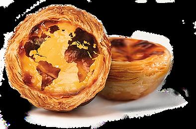 world in custard tart