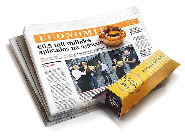 capa jornal expresso com natas