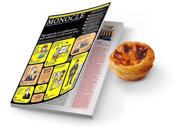 Monocle magazine cover nata lisboa