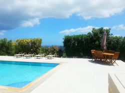 Private pool 40 sqm & furniture