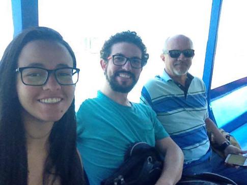 No dia 14 de novembro de 2017, o Professor Gilberto Ribeiro com os alunos Cristiano Souza e Amanda Santos foram mais uma vez à praia do Góes. Conversaram com outro morador, ele trabalha com barcos, vive bastante satisfeito com sua família neste lugar. Nos contou sua história e destacou uma vida mais participativa da comunidade num passado recente.