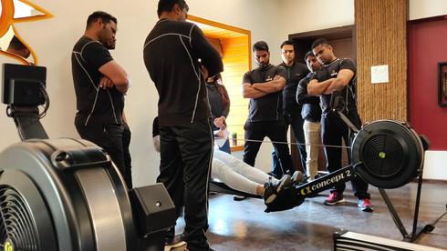 We Train Hard Before We Train You