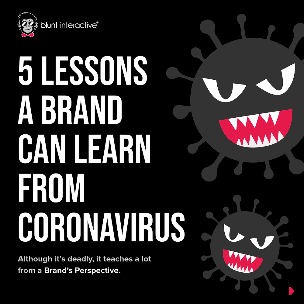 5 Lessons A Brand Can Learn From Coronavirus