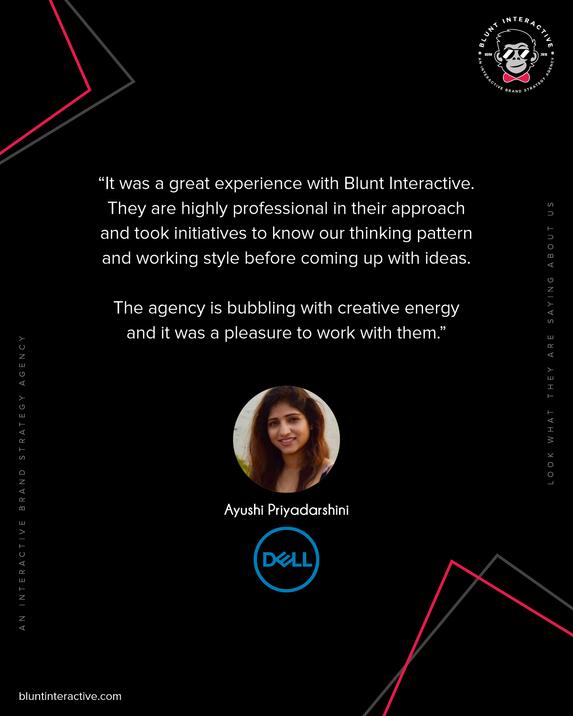 Blunt Interactive - Ayushi Priyadarshini
