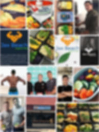 jax beach organic meals collage