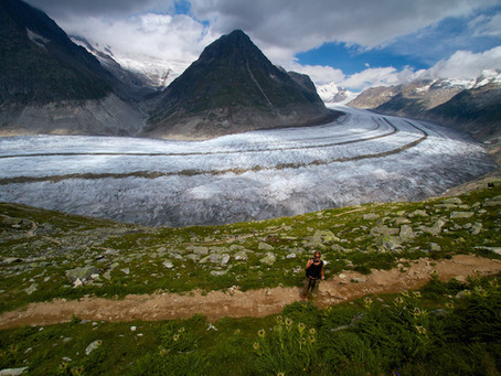 Aletsch glacier – Europe's longest glacier